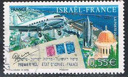 FRANCE : N° 4299 Oblitéré (60ème Anniversaaire Du 1er Vol Israël-France) - PRIX FIXE - - France
