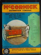 Mc Cormick Distributeur D'engrais (publicité,agriculture) - Affiches