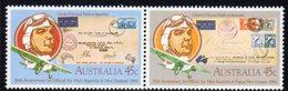 Australia 1984 50th Anniversary Of Airmail Flights Se-tenant Pair, MNH, SG 903/4 - 1980-89 Elizabeth II