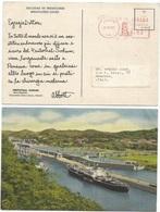 Panama Lot 5 Pcards Us/Unused City, Shopping Street, Culebra Court, Day Of The Indians In San Blas, Abbott Dear Doctor - Panama