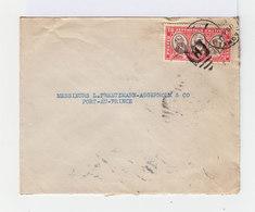 Sur Enveloppe Timbre République D'Haïti Tricentenaire Du Rattachement 10 C Rose Et Sépia. CAD Jacmel 1936. (708) - Haiti