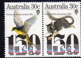 Australia 1984 150th Anniversary Of Victoria Se-tenent Pair, MNH, SG 959/60 - 1980-89 Elizabeth II