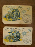 2 Stuks  LE  NARCISSE  BLEU - Perfume Cards