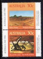 Australia 1985 Australia Day Se-tenant Pair, MNH, SG 961/2 - 1980-89 Elizabeth II