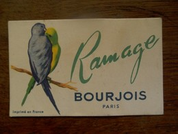 Reukkaartje  RAMAGE   BOURJOIS - Perfume Cards