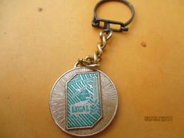 Porte-clé Publicitaire/Alimentation / Café /LEGAL Vert / / Le Café C'est Legal/   Métal /Vers 1960-1970  POC396 - Key-rings