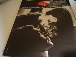 ANCIENNE PUBLICITE CIGARETTE WINSTON 1969 - Publicités