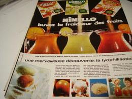 ANCIENNE PUBLICITE LYOPHILISATION DE NINELLO 1969 - Posters