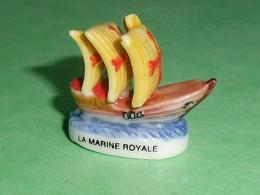 Fèves / Autres / Divers : La Marine Royale , Voilier , Bateau  T16 - Geluksbrengers