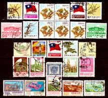 Taiwan-0004 - Lotto Valori Di Vari Periodi. - Taiwan (Formosa)