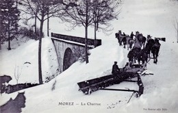 CPA De MOREZ (Jura) - La Charrue. Edition Vve Karrer à Dole. Non Circulée. Bon état. - Morez