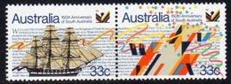 Australia 1986 150th Anniversary Of South Australia Se-tenant Pair, MNH, SG 1000/1 - 1980-89 Elizabeth II