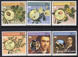 Australia 1986 Bicentenary Of Settlement IV Set Of 6, MNH, SG 1002/7 - 1980-89 Elizabeth II
