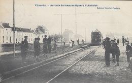 BRUXELLES Et Alentours. Environ 140 Cartes Postales, Plusieurs Avant 1914, Dont Une Arrivée Du Tram à Vilvorde. - Postcards