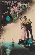 FANTAISIE. Couples, Jeunes Femmes, Enfants, Fleurs... E - Postcards