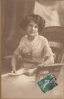 FANTAISIE. Jeunes Femmes, Couples, Fleurs. Environ 650 - Postcards