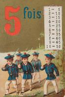 CHROMOS, Découpis, Quelques Cartes Postales «fantaisie» - Trade Cards