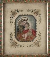 IMAGE PIEUSE: Vierge à L'enfant. - Devotion Images