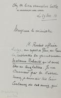 Émile VERHAEREN - Lettre Autographe Signée à Monsieur L - Autographs