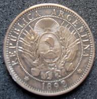 Pièce De Dos Centivos D'Argentine De 1892 - Argentine