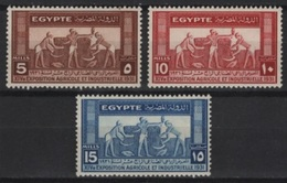 Egypte - Egypt (1931) Yv. 141/43  / Agriculture - Landbouw