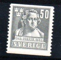 Suède /  N 282 / 50 Ore Gris / NEUF** - Sweden