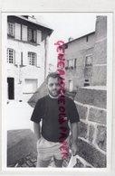 87- EYMOUTIERS- BERNARD BRILLOU- PRESIDENT ASSOCIATION LOU PELELE PELAUD  RARE PHOTO ORIGINALE 1990 - Persone Identificate