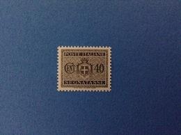 1945 LUOGOTENENZA FRANCOBOLLO NUOVO STAMP NEW MNH** 40 CENT SEGNATASSE - 1944-46 Lieutenance & Humbert II