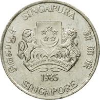 Monnaie, Singapour, 20 Cents, 1985, British Royal Mint, TTB, Copper-nickel - Singapour