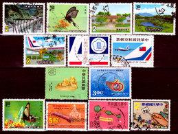Taiwan-0007 - Lotto Valori Di Vari Periodi. - Taiwan (Formosa)