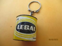 Porte-clé Publicitaire/Alimentation /Café / LEGAL Moulu/ /Métal  /Vers 1960-1970  POC379 - Key-rings