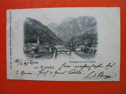Gruss Aus Pontafel.Reichsgrenze Bei Pontafel.Border - Udine