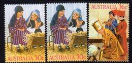 Australia 1986 Christmas Set Of 3, MNH, SG 1040/2 - 1980-89 Elizabeth II