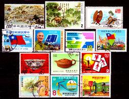 Taiwan-0011 - Lotto Valori Di Vari Periodi. - Taiwan (Formosa)