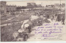 69 Lyon Exposition Internationale 1914 Palais De L Horticulture Et Les Jardins - Lyon