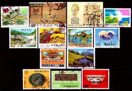 Taiwan-0012 - Lotto Valori Di Vari Periodi. - Taiwan (Formosa)