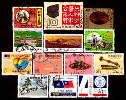 Taiwan-0013 - Lotto Valori Di Vari Periodi. - Taiwan (Formosa)
