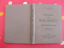 Dictionnaire Des Maladies Causes Et Traitements. Dr J-B Dubois. Journal De La Santé 1890 - Livres, BD, Revues