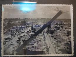 Le Havre - Photo Originale - Vue Du Havre Sous La Neige  - Bombardement 5 Septembre 1944 - BE - - Lieux