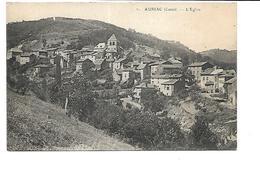 15-AURIAC-l'EGLISE-( Massiac)-Une Vue Generale Du Village Et De Son Eglise - Autres Communes