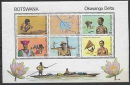 1978 BOTSWANA BF13** Delta Okavango, Pêche, Bétail - Botswana (1966-...)