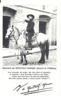 BERNARD DE MONTAUT MANSE DEVANT LE CHATEAU - Lunel
