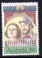 Australia 1989 Stage & Screen Personalities, 39c, Perf. 14x13½ , MNH, SG 1208a - 1980-89 Elizabeth II