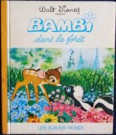 Walt Disney - BAMBI Dans La Forêt - Les Albums Roses - Hachette - ( 1969 ) . - Books, Magazines, Comics