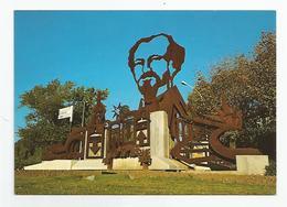 04 Digne - Statue Réalisée Par Les Elèves Du Lep Beau De Rochas D'après Un Dessin De M.poirier - Digne