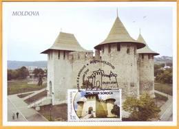 2018 Moldova Moldavie Discover Moldova Maxicard Soroca - Moldavia