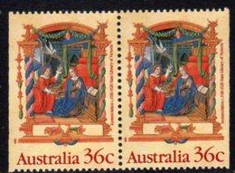Australia 1989 Christmas 36c Booklet Pair, MNH, SG 1225a - 1980-89 Elizabeth II