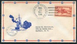 1941 Iceland USA APO 810 Fieldpost Censor Patriotic Ship Cover - 1918-1944 Administration Autonome