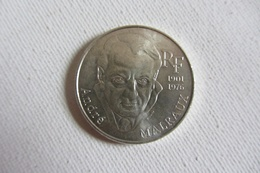 100 Francs Argent  Malraux - N. 100 Francs