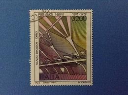 1991 ITALIA FRANCOBOLLO USATO STAMPS USED - ARTE PIER LUIGI NERVI - 1991-00: Usati